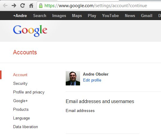 Securing Google Plus