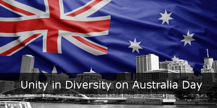 Unity in Diversity on Australia Day