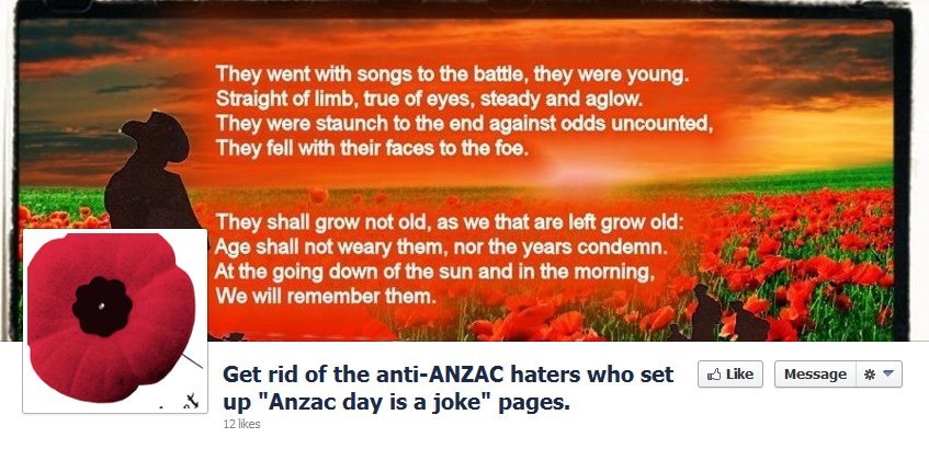 ANZAC Page