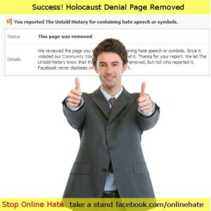 Success Holocaust Denial Removed