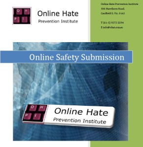 Submission on Online Safety