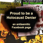 Reporting Proud Holocaust Deniers