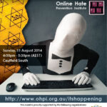It's Happening! Join the fight against growing online antisemitism.