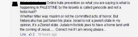 page id onlinehate post id 786464174764140 comment 9 antizionism
