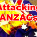 Attacking the ANZACs in the lead up to Centenary
