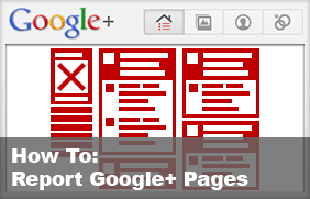 How to Report Google+ Community Pages