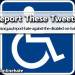 Report Hate Against the Disabled on Twitter